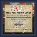 February 28 – PABA's 2019 New Year Kickoff Social!