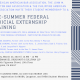 March 23 – Pre-Summer Federal Judicial Externship Training