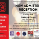 March 21 – New Admittee Reception