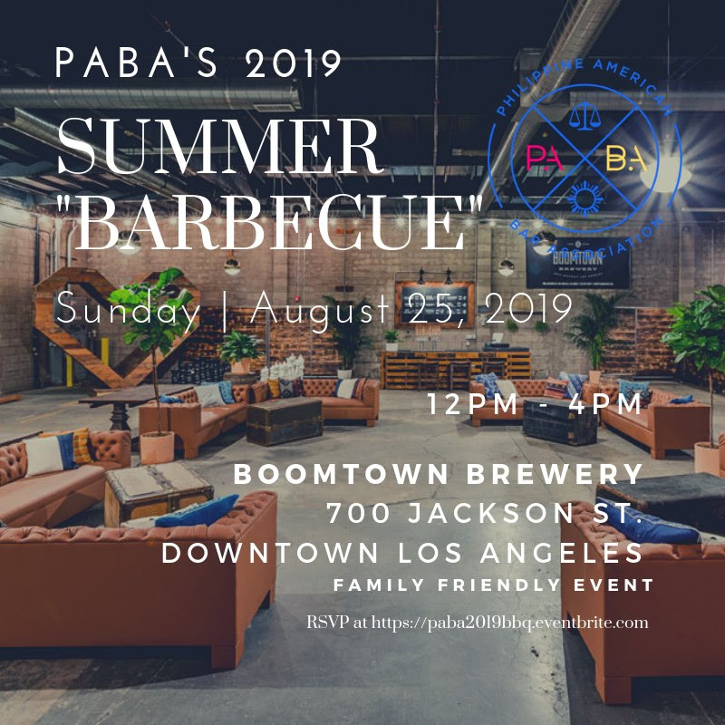 August 25 – PABA Summer Barbeque at Boomtown Brewery