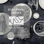 Sept 4 – PABA Food Series at LASA