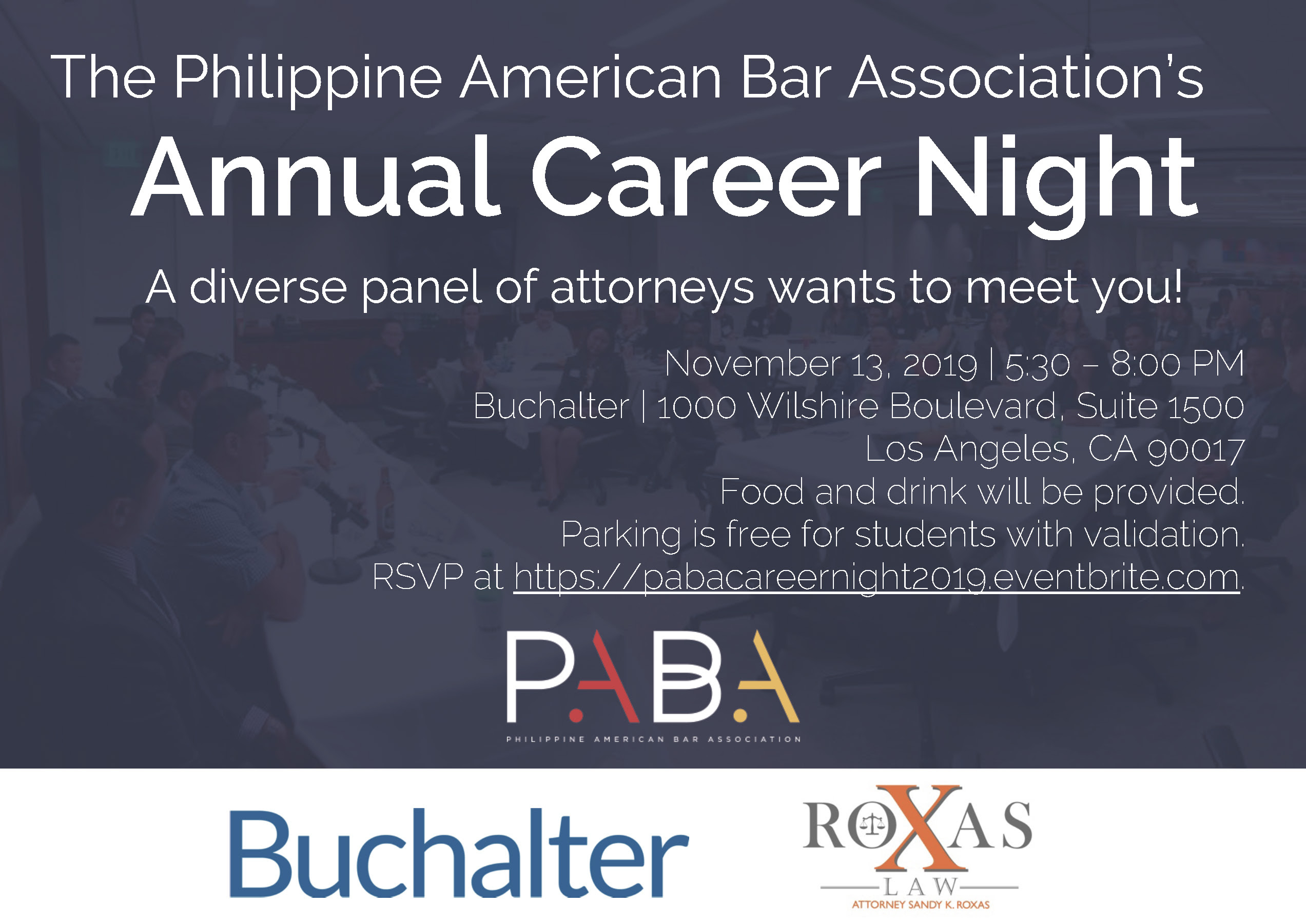 Nov 13 – Annual Career Night